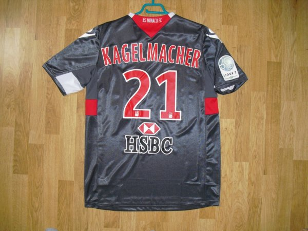 Maillot third saison 2011-2012 floqué KAGELMACHER (de dos)