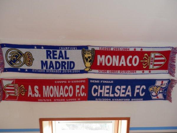 Echarpes des matchs de Ligue des Champions