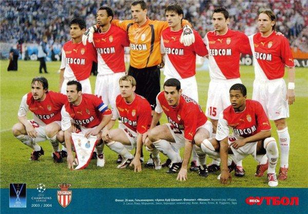 Ensemble programmes et ticket de la Finale de la Ligue des Champions 2003/2004