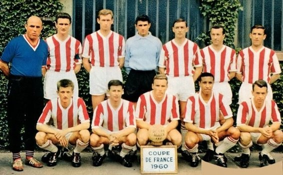 Fanion de la Finale de Coupe de France 1960