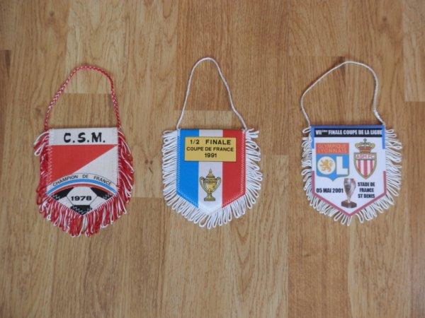Fanions compétitions nationales