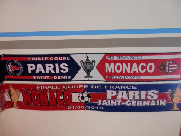 Echarpes de la Finale de la Coupe de France 2009-2010