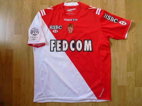 Maillot domicile saison 2010-2011 floqué NKOULOU (de face)