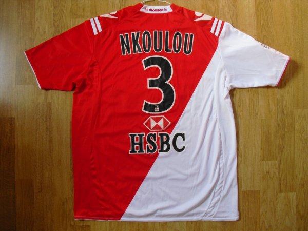 Maillot domicile saison 2010-2011 floqué NKOULOU (de dos)