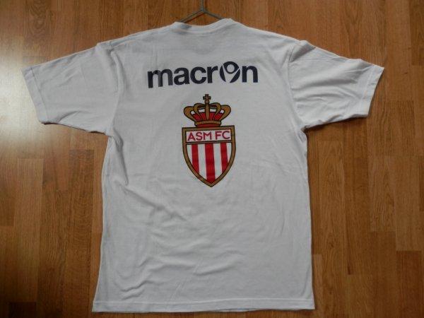 Maillot saison 2012-2013 Monaco Champion de Ligue 2 (de dos)