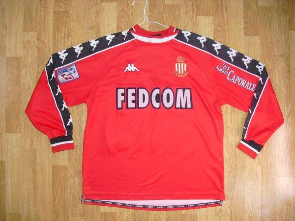 Maillot third saison 1999-2000 floqué SIMONE (de face)