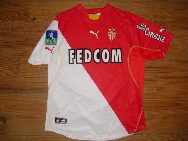 Maillot domicile saison 2002-2003 floqué SQUILLACI (de face)
