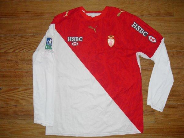 Maillot domicile saison 2006-2007 floqué YAYA TOURE (de face)