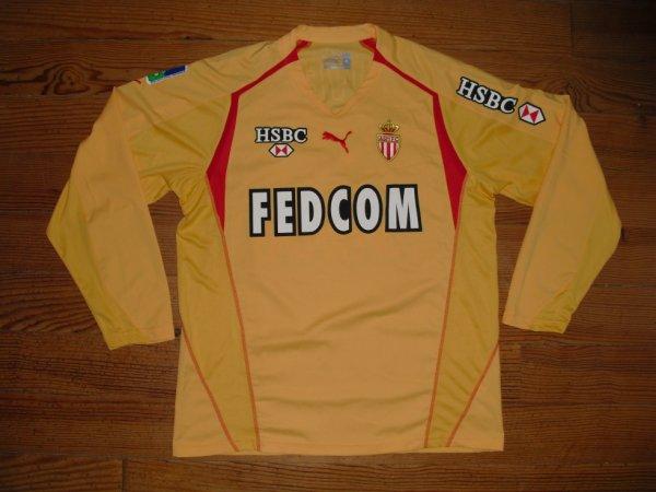 Maillot extérieur saison 2005-2006 floqué GIVET (de face)