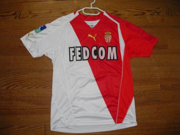 Maillot domicile saison 2005-2006 floqué CHEVANTON (de face)
