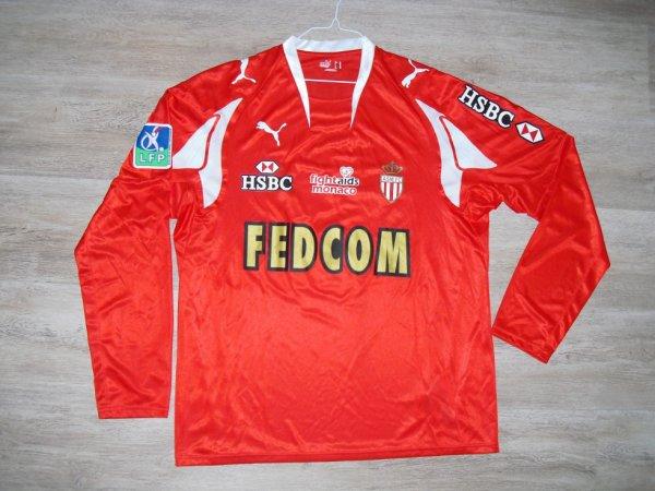 Maillot third saison 2007-2008 floqué PINO (de face)