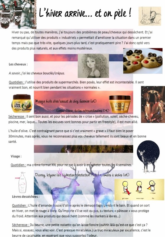 Solutions pour peau fragilisée