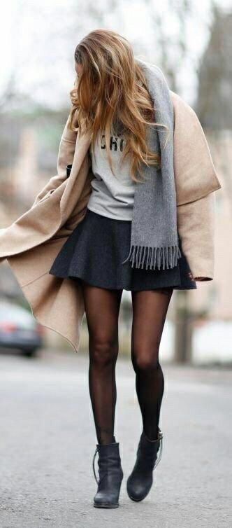 Une jupe trop courte ?