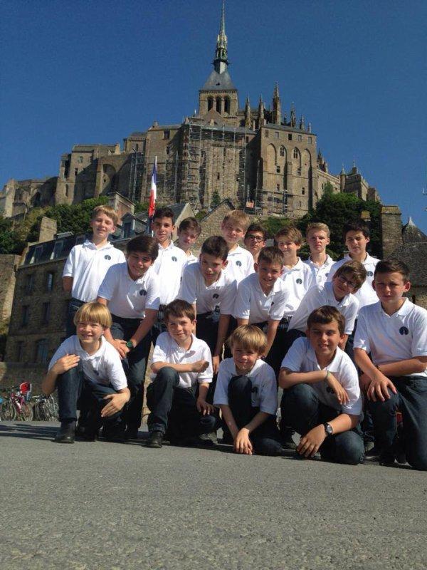 Petite visite au Mont St Michel