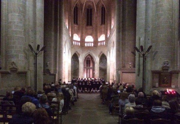 Concert à Dinan, merci à la Municipalité pour son accueil