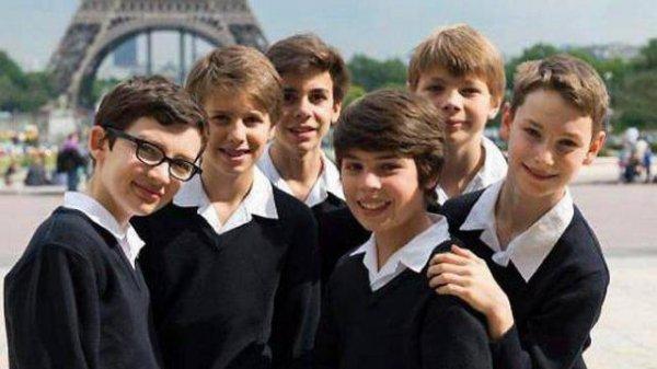 Les Petits Chanteurs de France à Saint-Malo
