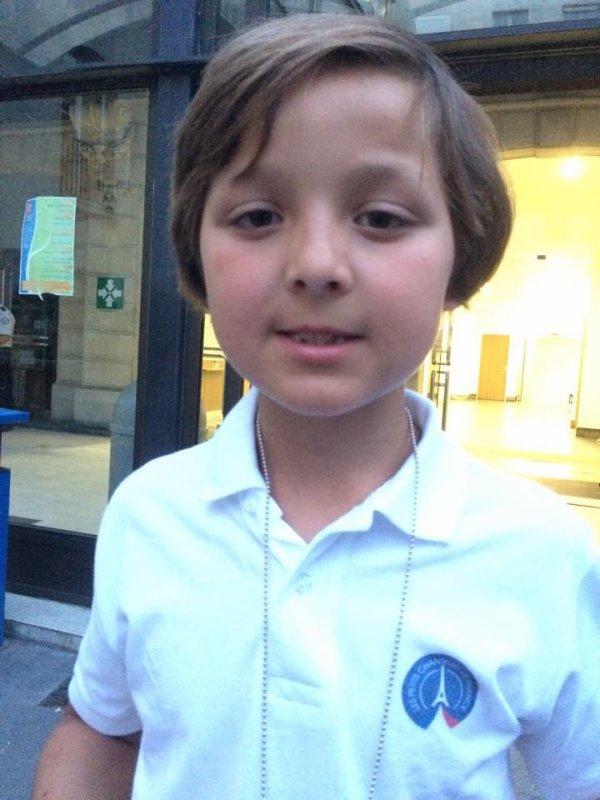 William, nouveau Soprane chez les Petits Chanteurs depuis juin