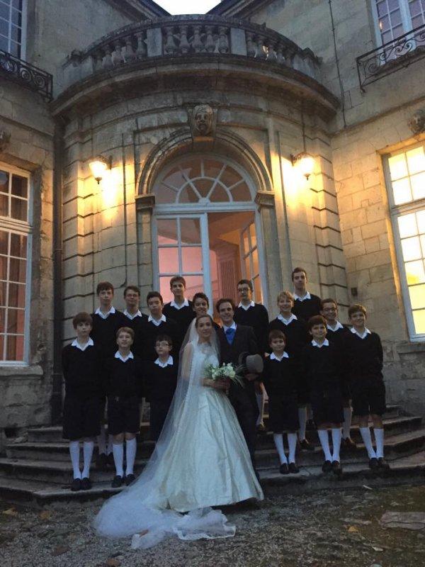 N'hésitez pas à demander les Petits Chanteurs de France pour votre mariage ou celui d'amis