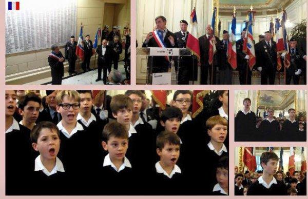 Cérémonie du 11 novembre à la Mairie de Paris du 6ème arrondissement