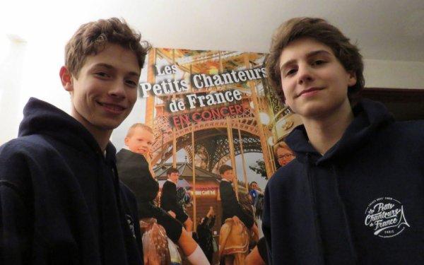 De retour d'Asie, les Petits chanteurs de France donnent de la voix à Brunoy