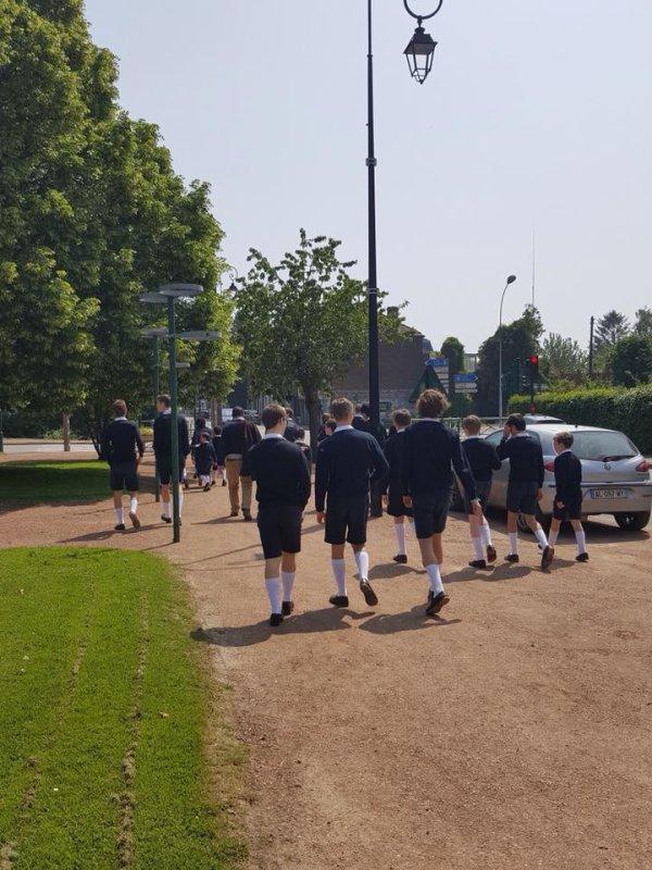 Les Petits Chanteurs ont repris le chemin de l École ce matin