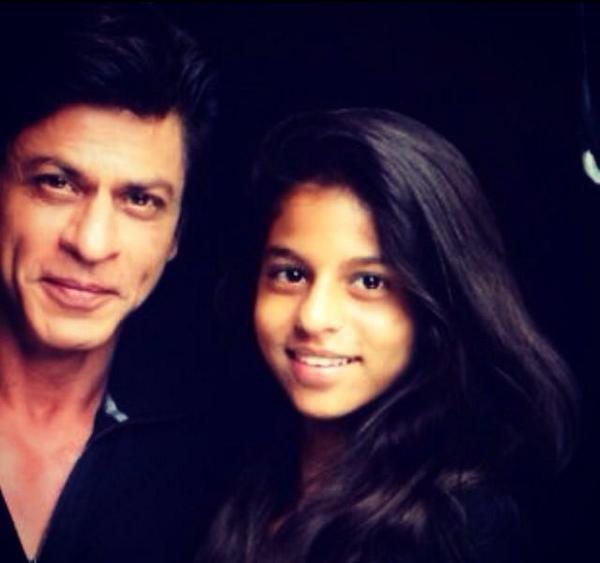 Shah Rukh Khan etsa fille Suhana