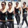 Vanessa allant à la salle de Fitness