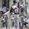 Vanessa qui quitte sa maison en compagnie de son petit-ami Austin Butler le 6 novembre 2011                                                                   ♥ Vanessa à LA !