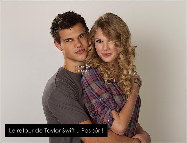 .« Back to December » voudrais en dire plus ... ?.Taylor Swift nous avait prévenu que son nouvel album nommé « Speak Now » serait rempli de messages pour ses ex, de règlements de compte concernant Joe Jonas ou même Kanye West mais il semblerait qu'elle est omis de nous dire qu'il y aurait aussi des déclarations d'amour ! En effet dans sa chanson « Back to December » la belle semble bel et bien s'adresser à notre loup-garous avec qui, je le rappelle, elle avait eu une relation vers septembre/décembre 2009. Taylor était apparemment très épris de la chanteuse de country mais elle n'avait pas su lui rendre ses sentiments et avait mis fin à leur relation. Il semblerait que maintenant, elle regrette : « Donc me voici, ravalant ma fierté, me tenant devant toi et te disant que je suis désolée pour cette nuit. [...] Je retourne en décembre sans arrêt. » Peu de preuves me diriez-vous mais ce n'est pas tout ! Regardez la suite de la chanson : « Tu m'as donné tout ton amour et tout ce que je t'ai donné en retour était au revoir. [...] Ta peau bronzée me manque, tout comme ton doux sourire. Tu étais si gentil avec moi, si bon. Et lorsque tu me tenais dans tes bras cette nuit de septembre, la première fois que tu me voyais pleurer. » Et c'est à peu près ça tout le reste de la chanson....T'en penses quoi de cette chanson ? Un come-back ou pas ?.