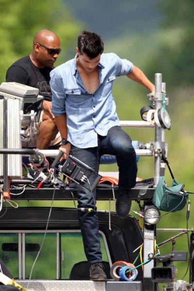 Mais ou est Taylor Lautner?