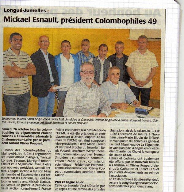 Nouveaux Président de Ucml