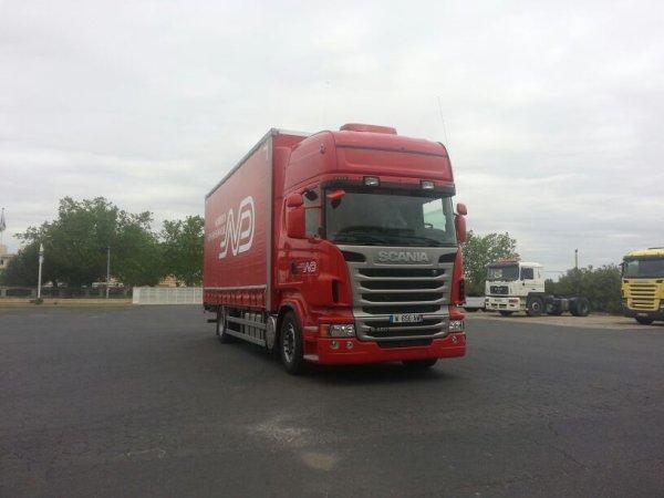 Ça y est j'ai mon nouveau camion