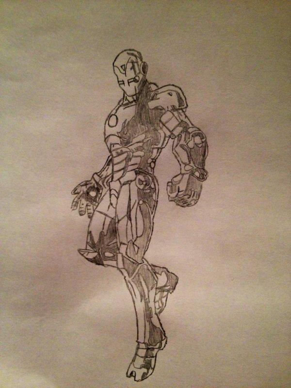 Blog de dessinatrice 54 dessin manga et comics - Dessin de iron man ...