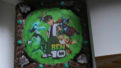 sa aussi le gâteau de mon fils Gaëtan pour sais 2 ans