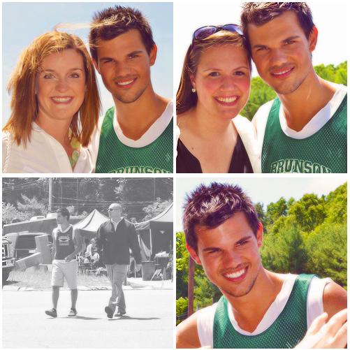 . Taylor a été vu il y a quelques jours sur le tournage de Grown Ups 2 :.