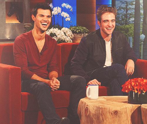 . Taylor et Robert étaient au Ellen Show :.