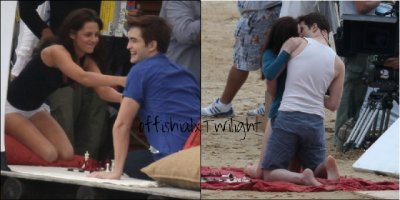 Tournage de Breaking Dawn
