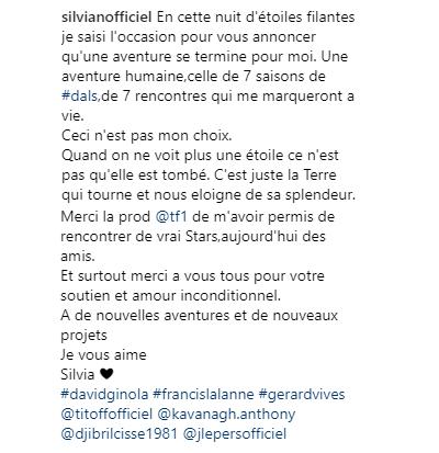 #DernièresMinutes : L'hécatombe à Danse avec les stars : Silvia évincée de #DALS8 !