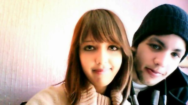 me and my cousine :D