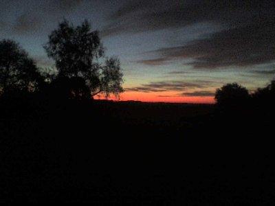 coucher de soleil pres de chez moi
