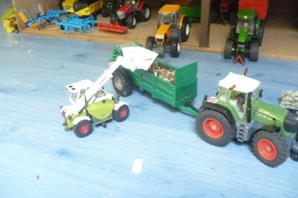 tracteur fendt avec un télescopique class