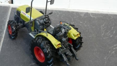 nouveautés petit tracteur claas 1/32