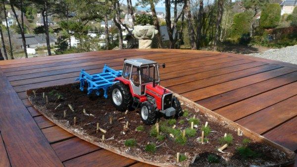 Nouveau diorama agricole