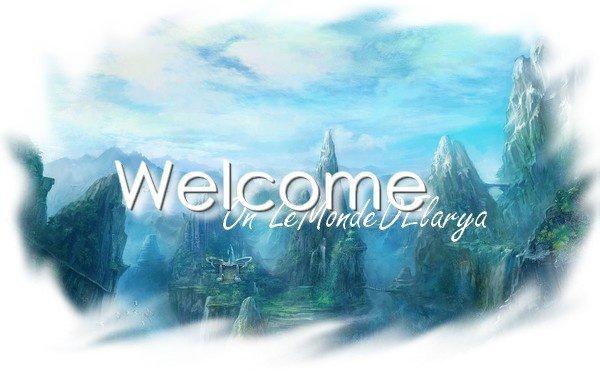 Welcome on Le monde D'Alarya