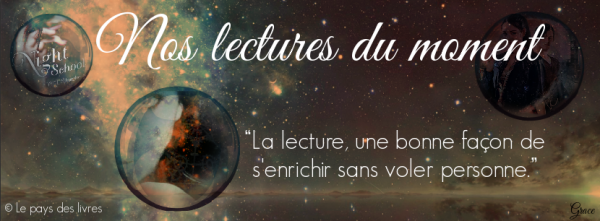 Nos lectures du moment + Newsletter