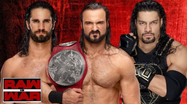 WWE RAWisWAR 11/03/19