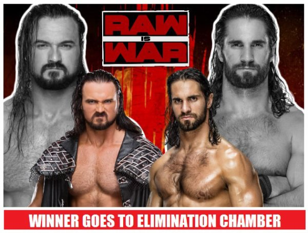 WWE RAWisWAR 18/02/19