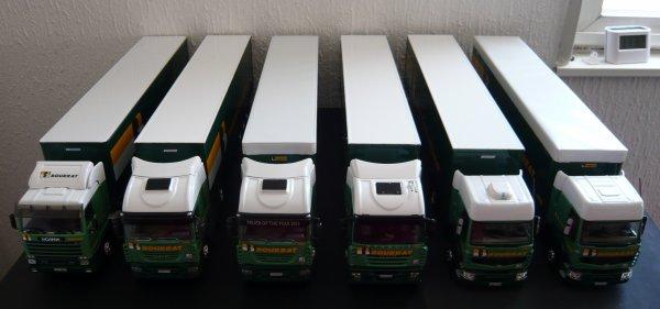 Flotte Transports BOURRAT Eligor Lbs 1/43ème