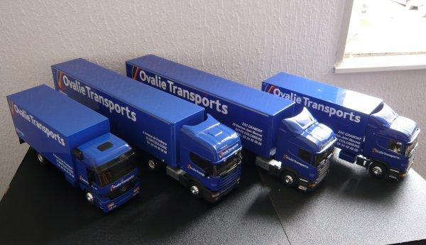 Flotte complète des Transports OVALIE Eligor LBS 1/43ème