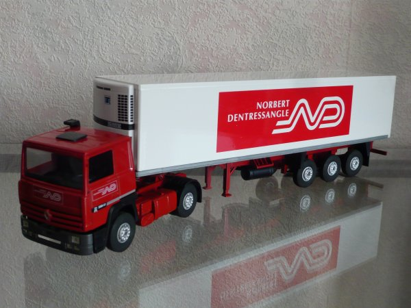 "Renault R350 Major Remorque Frigo "" Transports Norbert Dentressangle "" Eligor LBS Ref: 110133"